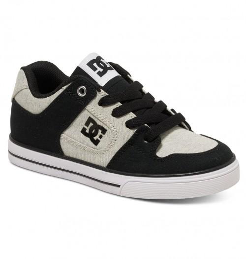Zapatillas de bebé DC Pure TX SE Black/White/Black