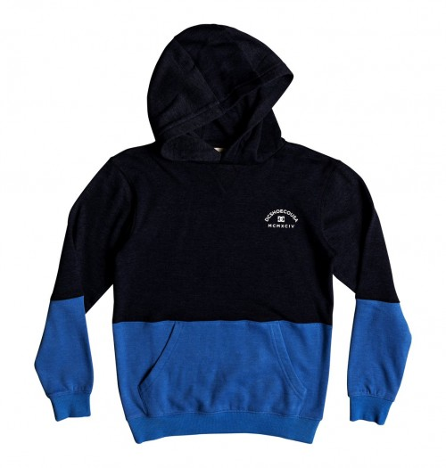 Sudadera DC Rebel Block Boy Dark Indigo