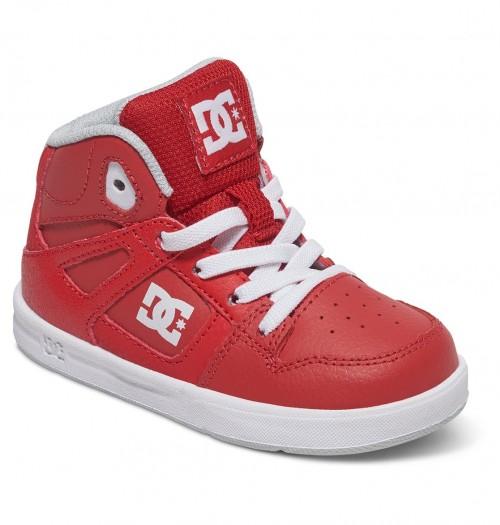 Zapatillas de bebé DC Rebound UL Red