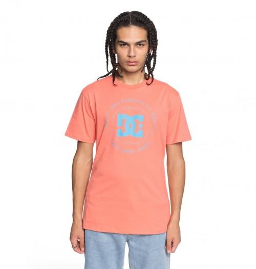 Camiseta DC Rebuilt Porcelaine Rose/Hawaiian Ocean
