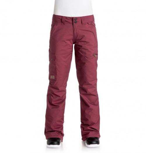 Pantalones de snowboard DC Recruit Pants Cordovan Red