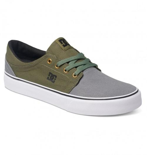 Zapatillas DC Trase TX Grey/Black/Green