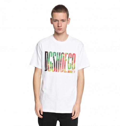 Camiseta DC Trippy Typed Tee Snow White