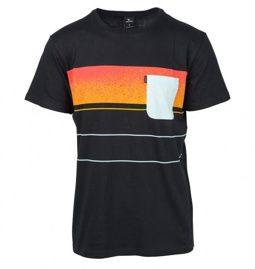 Camiseta Rip Curl Squad Block Boy Tee Black