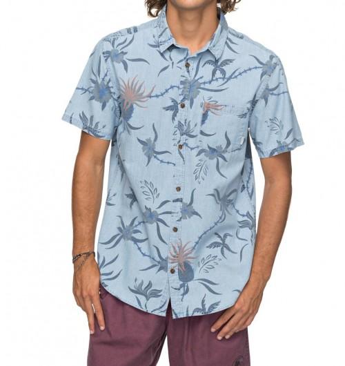 Camisa Quiksilver Shakka Mate Blue Used