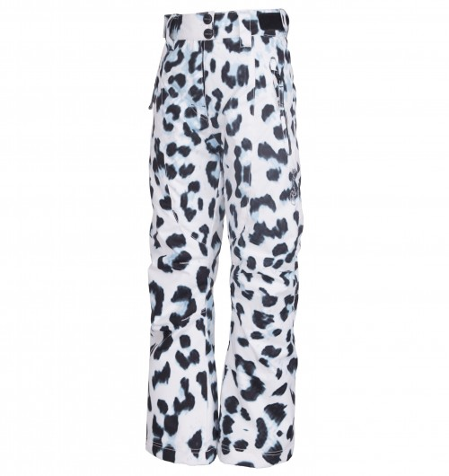 Pantalones de snowboard Rehall Betty-R Girls White Leopard
