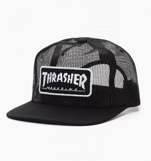 Gorra Thrasher Magazine Logo Mesh Cap Black