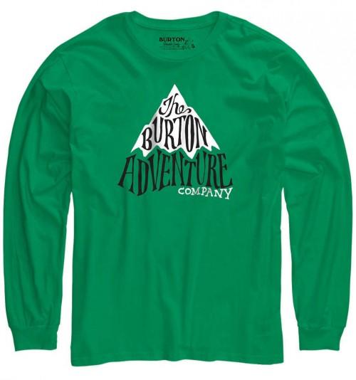 Camiseta Burton Boys Adventure Co Long Sleeve T Shirt Kelly Green