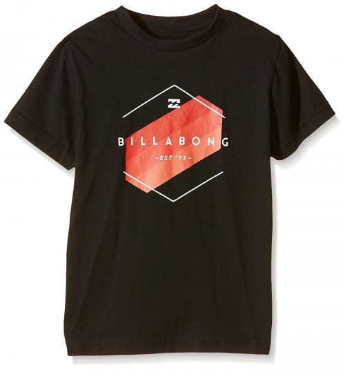 Camiseta Billabong Obstacle SS Tee Black