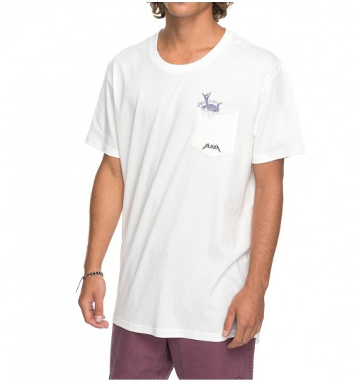 Camiseta Quiksilver Skumel Snow White
