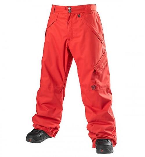Pantalones de snowboard Special Blend Strike Pants Red Rum