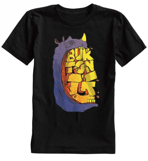 Camiseta Burton Boys Chomp Short Sleeve True Black