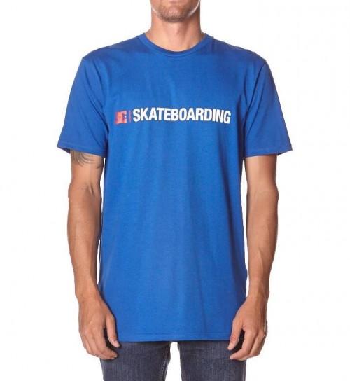 Camiseta DC Minimal T-Shirt Nautical Blue