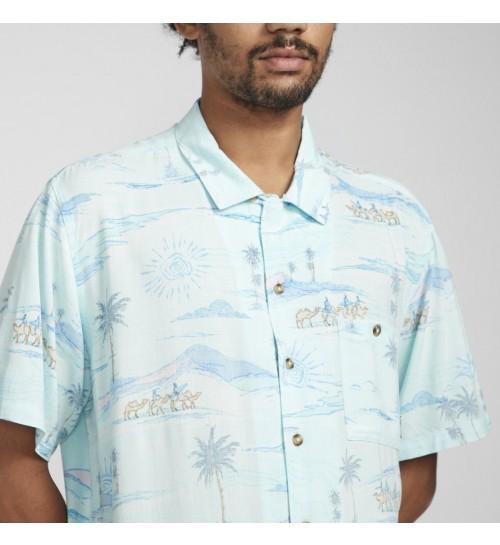 Camisa Billabong Vacay Print Mint