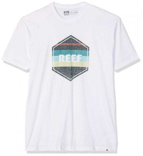Reef Peeler Tee White