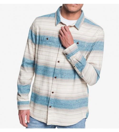 Camisa Quiksilver Inca Gold Stripe Moonlit Ocean Inca Stripe