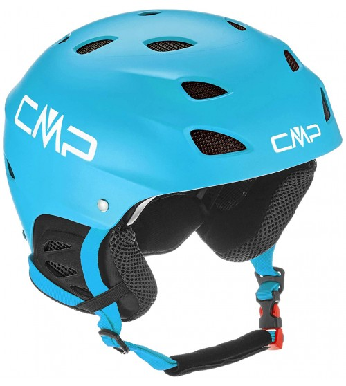 Casco de snowboard Campagnolo XJ-3 CMP Kids Ski Helmet Blue Jewel