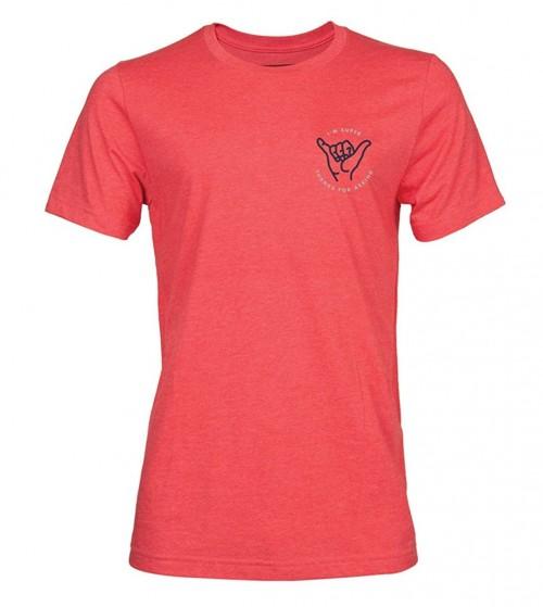 Camiseta Superbrand I'm Super T-Shirt Heather Red