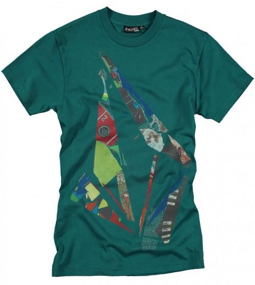 Camiseta Volcom Scrapstone SS Basic Boy Strobe Green