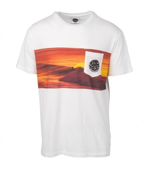 Rip Curl Action Original Tee White