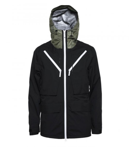 Chaqueta de snowboard Wear Colour Raven Black