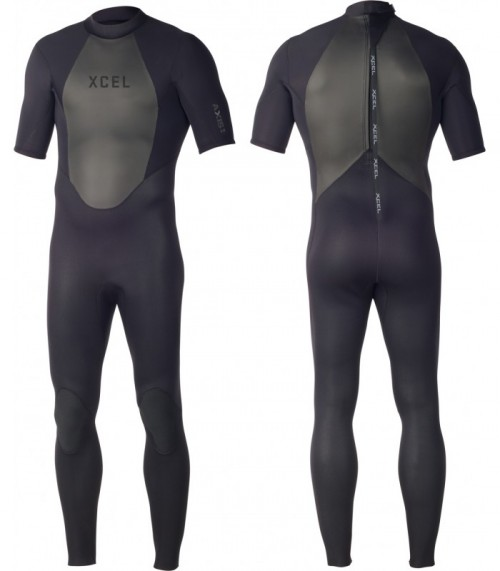 Neopreno de surf Xcel Axis S/S 2mm Fullsuit Black
