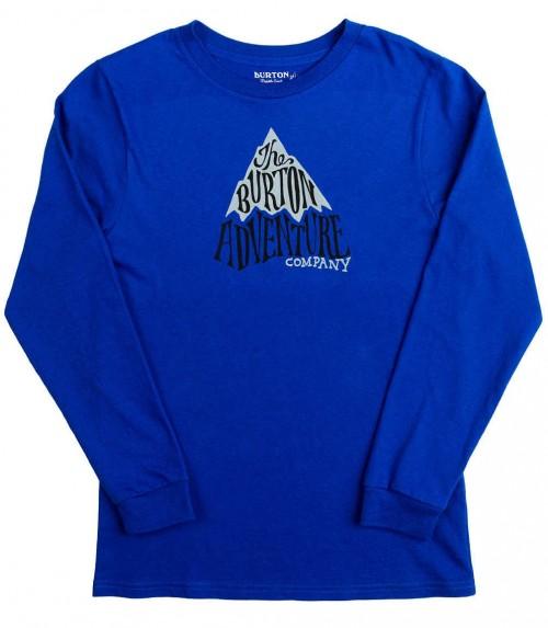 Camiseta Burton Boys Adventure Co Long Sleeve T Shirt Web