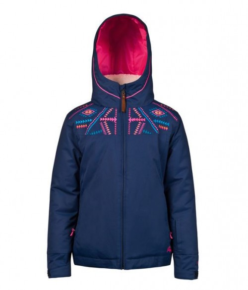 Chaqueta de snowboard Protest Griffin Junior Snowjacket Earth Blue