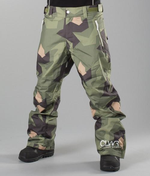 Pantalones de snowboard Wear Colour Base Pants Asymmetric Olive