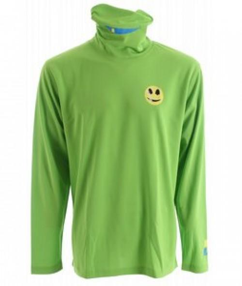 Camiseta de snowboard Forum First Layer T Neck Green