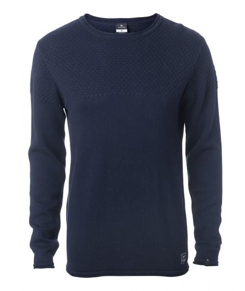 Jersey Rip Curl Blocky Sweater Night Sky