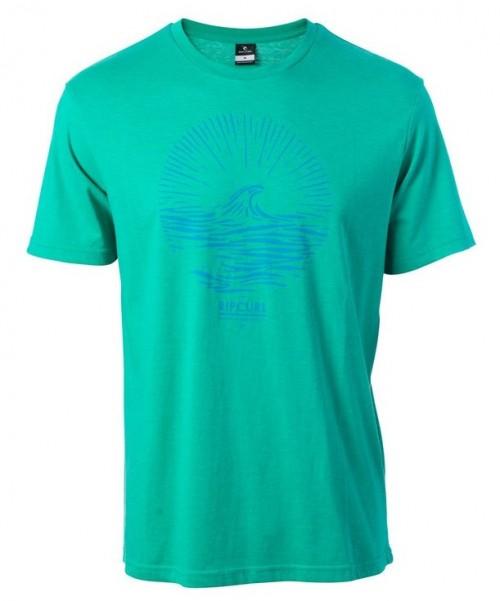 Camiseta Rip Curl Peak Tee Deep Green Marl