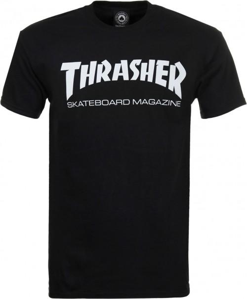 Camiseta Thrasher Skate Mag T-Shirt Black