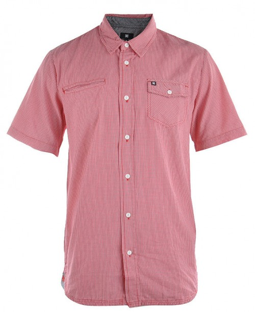 Camisa DC Blue Orchid Athletic Red