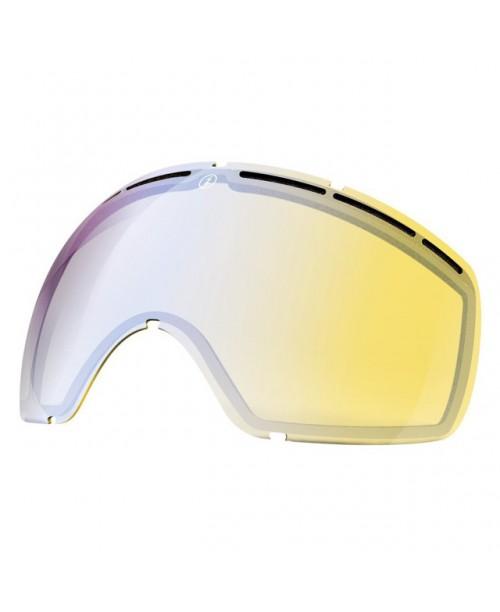 Lente de snowboard Electric EG2 Yellow/Blue Chrome