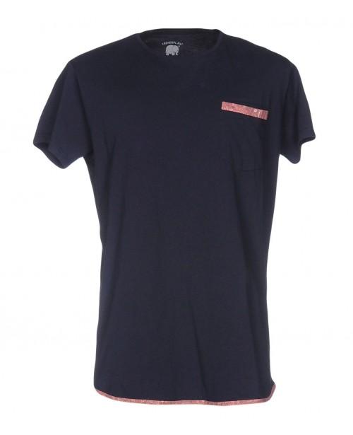Camiseta Trendsplant Kokomo Navy/Bandana