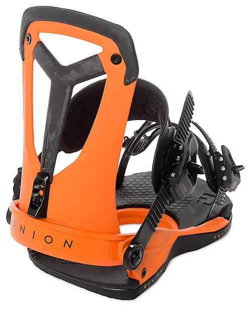 Fijaciones de snowboard Union Binding Falcor Orange 2018