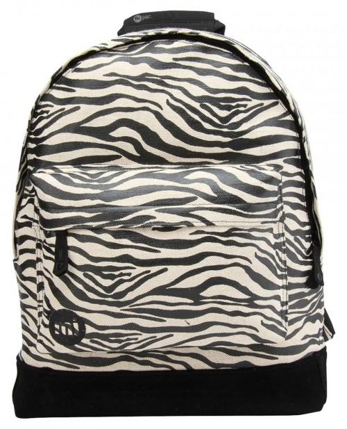 Mochila Mi-Pac Canvas Zebra Black White
