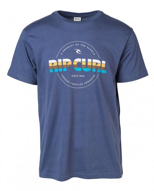 Camiseta Rip Curl Bigmama Circle Tee Blue Indigo