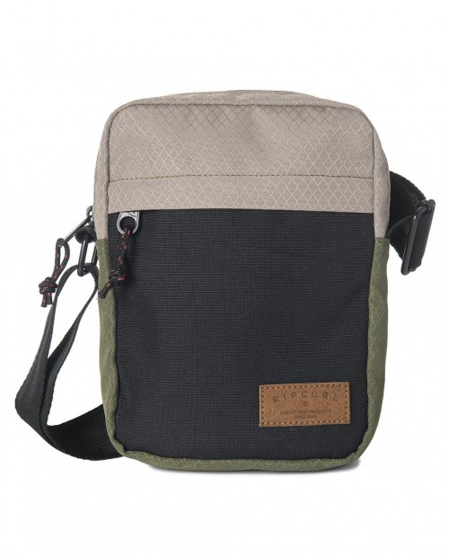Bolso Rip Curl No Idea Stacka Black/Gray/Green