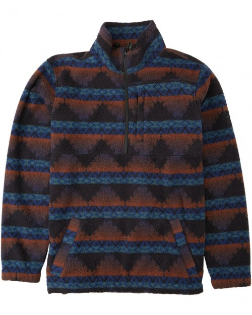Sudadera Billabong Boundary Mock Neck Malibu