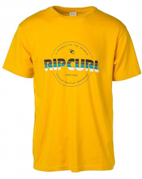 Camiseta Rip Curl Bigmama Circle Tee Old Gold