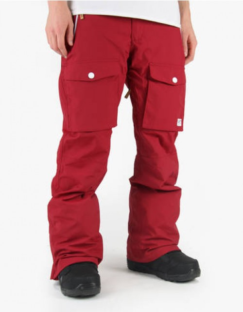 Pantalones de snowboard Wear Colour Flight Pants Burgundy