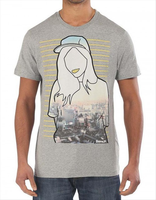 Camiseta Bench Jetset Grey