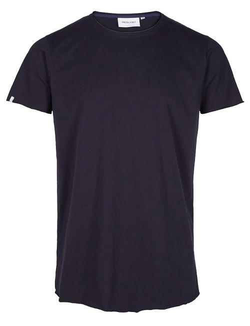 Camiseta Anerkjendt Ahrent T-Shirt Black Iris