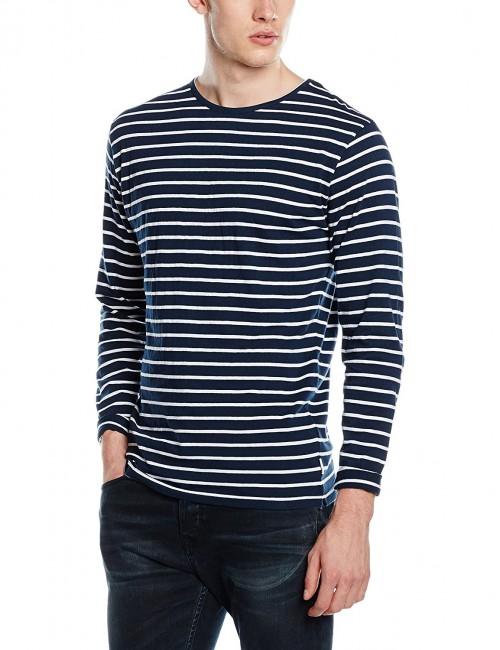 Camiseta Bellfield B Danio LS Navy