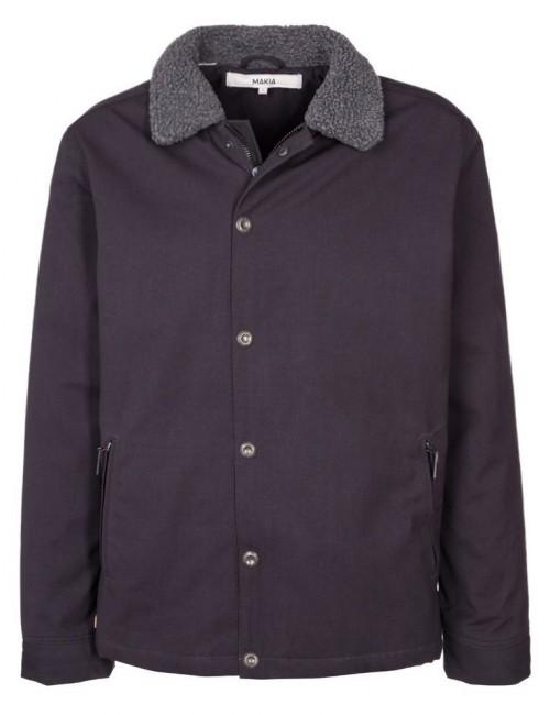 Chaqueta Makia Deck Jacket Asphalt