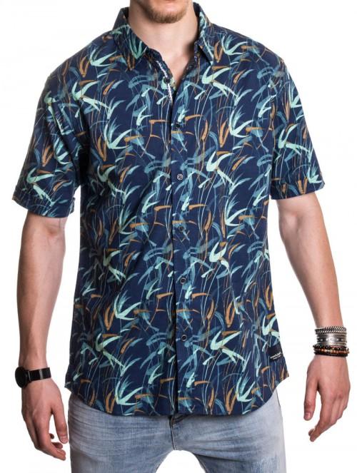 Camisa Anerkjendt Prana Vintage Indigo
