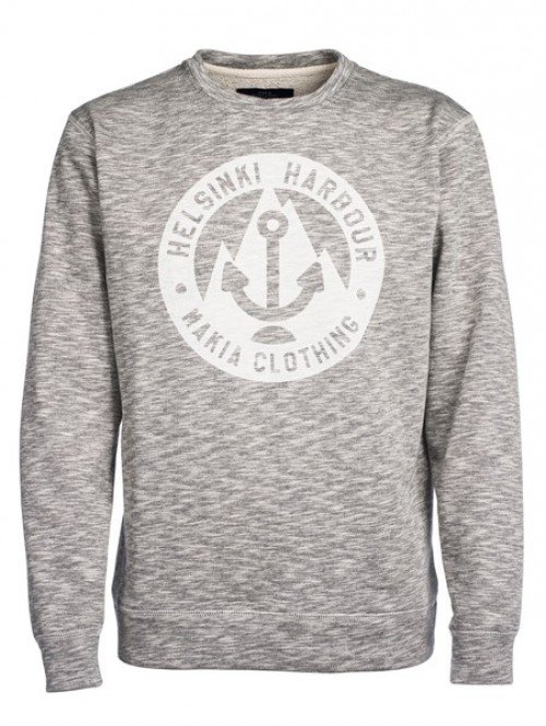 Sudadera Makia Harbour Sweatshirt Grey Melange
