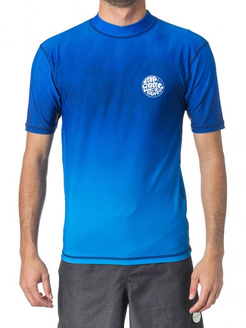 Lycras de surf Rip Curl Corpo Faded UV Tee Blue